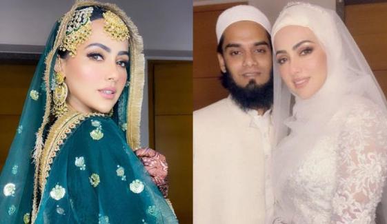 ثناء خان کی تصویروں پر شوہر کا ردِعمل