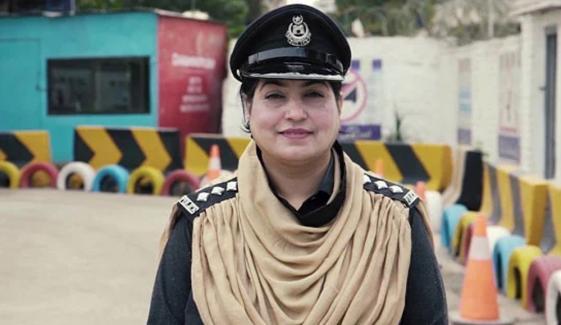 پشاور، پہلی خاتون ٹریفک پولیس DSP تعینات