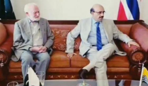 مسعود خان کی بزرگ نارویجین کشمیری رہنما شاہنوازخان کی وفات پر تعزیت