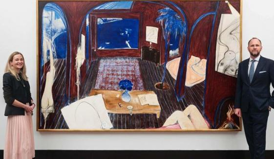 مصور کی موت کے 28 سال بعد پینٹنگ 73 کروڑ میں نیلام