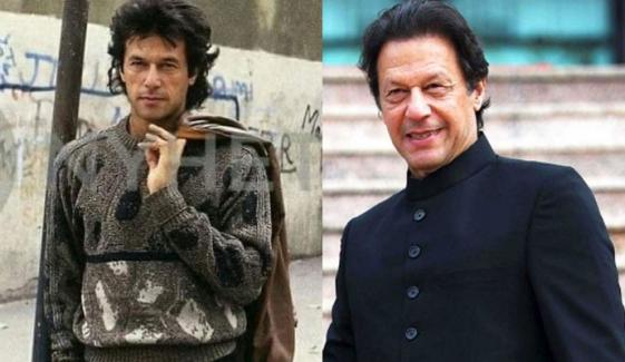 عمران خان کی'اولڈ ٹائم فوٹوز' سے موسم سرما کی یادگار جھلک