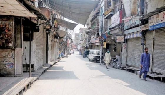 راولپنڈی: 12 علاقوں میں اسمارٹ لاک ڈاؤن نافذ