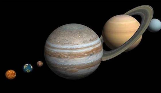 زحل اور مشتری21 دسمبر کو آسمان پر قریب ترین فاصلے پر نظر آئیں گے
