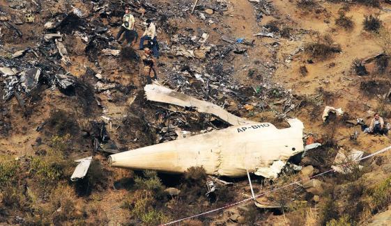 حویلیاں طیارہ حادثے کی ذمے داری پر CAA سے تفصیلی جواب طلب