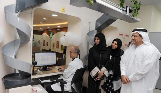 دبئی کے اسپتال میں اسمارٹ لیب کا افتتاح