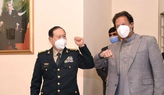 پاکستان چین کے تمام قومی مسائل پر اس کی حمایت کرتا ہے، وزیراعظم