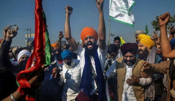 بھارت میں کسانوں کا احتجاج جاری