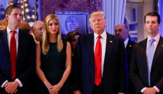 ٹرمپ کی بچوں اور ذاتی وکیل کیلئے قبل از وقت معافی پر مشاورت