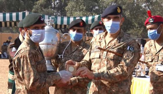 پاکستان آرمی رائفل ایسوسی ایشن کی 40ویں سینٹرل میٹ اختتام پذیر