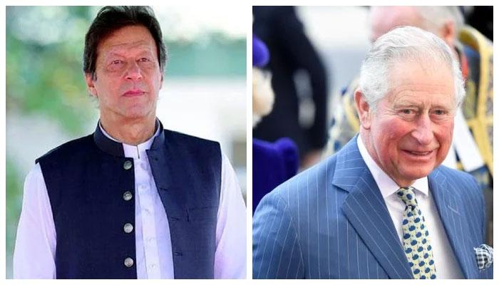 وزیراعظم عمران خان کو برطانوی شہزادہ چارلس کا ٹیلی فون