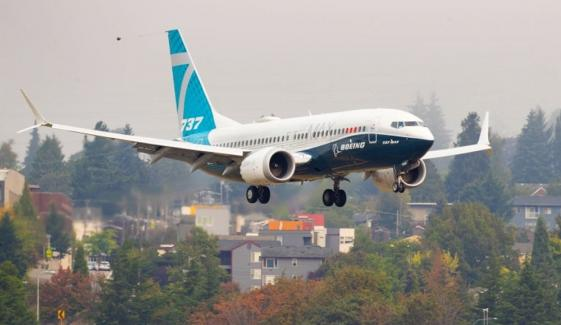 بوئنگ 737 میکس کی 20 ماہ پابندی کے بعد پہلی کامیاب پرواز