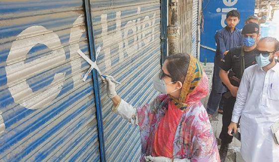 ملتان: SOPs خلاف روزی پر 7 دکانیں سیل