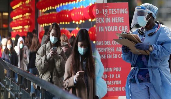 دنیا میں کورونا وائرس کیسز 6 کروڑ 48 لاکھ سے متجاوز