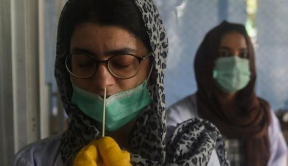 سب سے زیادہ مثبت کیسز کا تناسب کراچی میں 20.12 فیصد رہا، این سی او سی