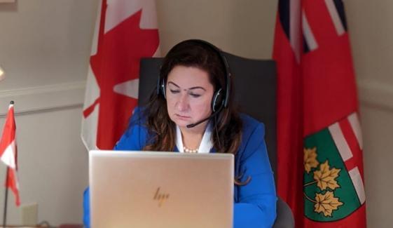 پاکستانی نژاد خاتون کینیڈا کی سینیٹ کمیٹی برائے انسانی حقوق کی صدر منتخب
