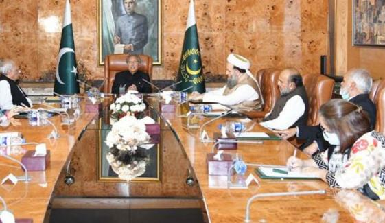 SOPs پر مشاورت کیلئے صدر مملکت کی زیر صدارت علماء کانفرنس