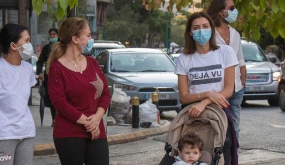 لبنان میں کورونا وائرس کا تیزی سے پھیلاؤ، اسپتالوں میں گنجائش ختم