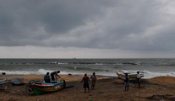 سری لنکا کے بعد سمندری طوفان بوریوی کا رخ جنوبی بھارتی ریاستوں کی جانب ہوگیا