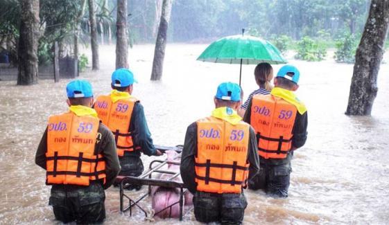 تھائی لینڈ میں بارشیں اور سیلاب، 5 افراد ہلاک