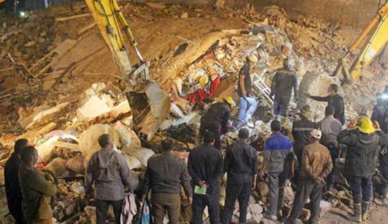 مصر میں 4 منزلہ عمارت گرنے سے کم از کم 6 افراد ہلاک