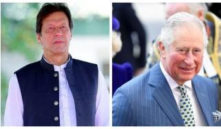 وزیراعظم عمران خان کو برطانوی شہزادہ چارلس کا ٹیلیفون