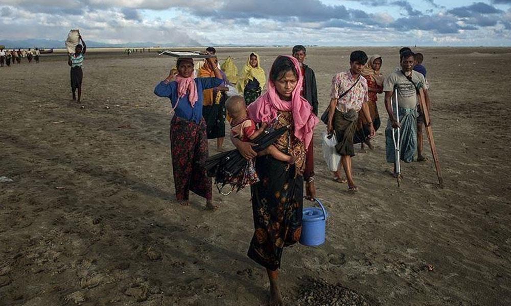 بنگلہ دیش :روہنگیا پناہ گزینوں کی سمندری خطرات سے دو چار جزیرے پر منتقلی کا فیصلہ