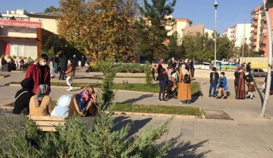ترک شہر سعرد میں زلزلے کے جھٹکے