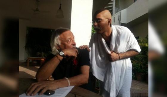 انور مقصود کی گاندھی جی سے ملاقات کب ہوئی؟