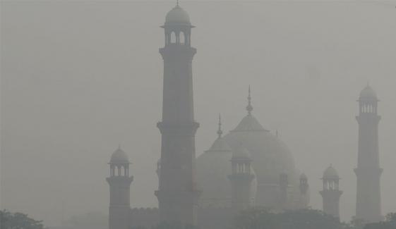 لاہور کی فضا آج انتہائی مضرِ صحت