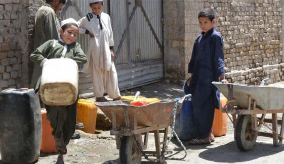 کوئٹہ، واسا کا مالی بحران اور 40 ٹیوب ویل کنکشن کاٹنے سے پانی کی قلت