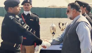 ظفراللّٰہ خان جمالی کی یاد میں ایک پولیس افسر کی پوسٹ