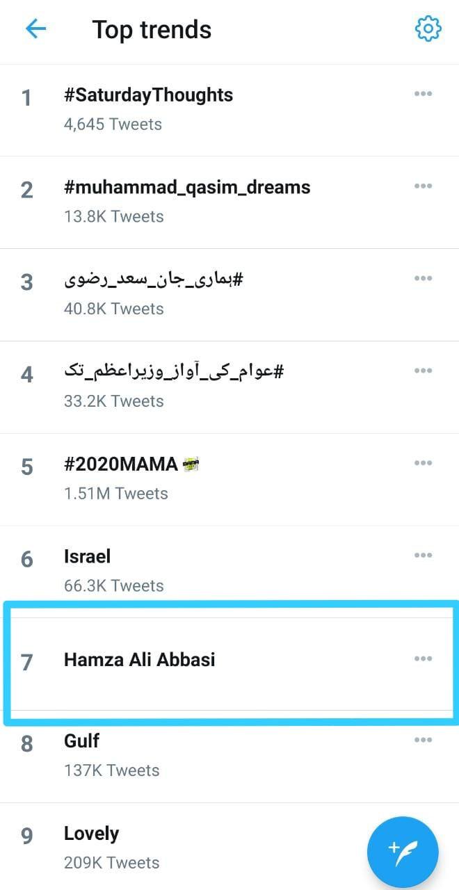 عمران خان اور حمزہ علی عباسی کی ملاقات ٹوئٹر پر ٹاپ ٹرینڈ