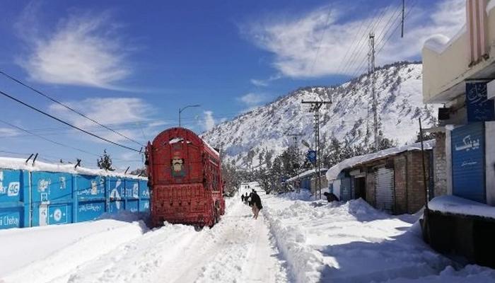 بلوچستان: شمالی علاقوں میں پیر سے بارش و پہاڑوں پر برفباری کی پیشگوئی