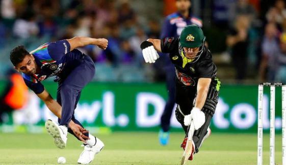 بھارت نے آسٹریلیا کو پہلا ٹی20میچ ہرا دیا