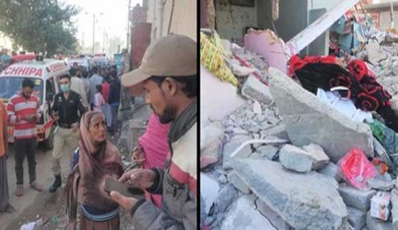نیو کراچی: سلنڈر دھماکے میں زخمی خاتون چل بسی