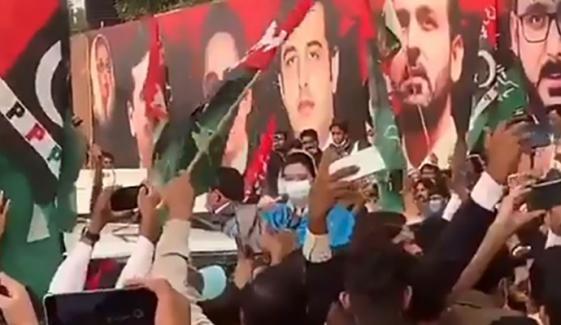 لاہور؛ مشعل بردار ریلی پر پی پی رہنماؤں، کارکنوں پر مقدمہ