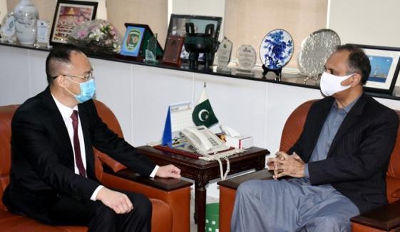 چین پاکستان کے ساتھ توانائی شعبے میں تعاون جاری رکھے گا، سفیر نونگ رونگ