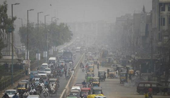 آج کراچی کی فضا انتہائی مضر صحت ہے، ایئرکوالٹی انڈیکس