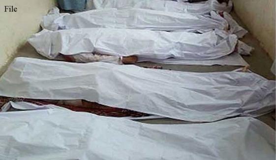 تربت کے 2 علاقوں سے 5 افراد کی لاشیں برآمد