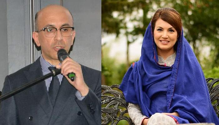 ریحام خان کی پراپرٹی ٹائیکون انیل مسرت سے معافی کی اپیل
