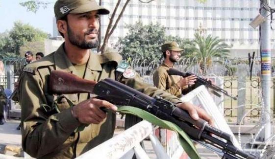 لاہور میں دہشت گردی کا منصوبہ ناکام، 5دہشتگرد گرفتار