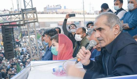 جب ہم اسمبلیوں کو چھوڑیں گے تو دما دم مست قلندر ہوگا، خواجہ سعد رفیق
