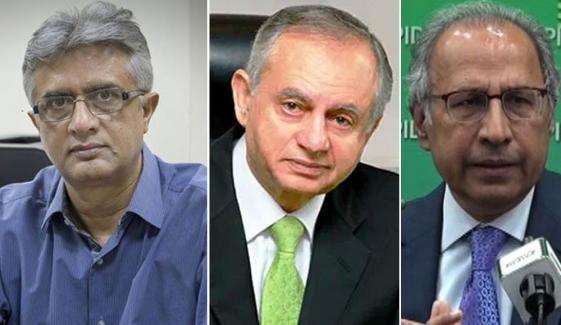 حفیظ شیخ، رزاق داؤد، ڈاکٹر فیصل کو وفاقی وزیر بنائے جانے کا امکان