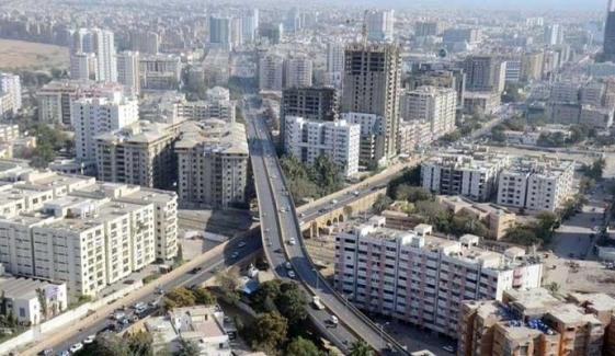 کراچی کی کثیر المنزلہ عمارتوں کو خوبصورت بنانے کا حکم