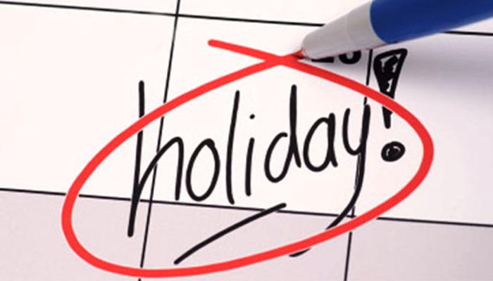 سال 2021 کی عام تعطیلات کی فہرست جاری