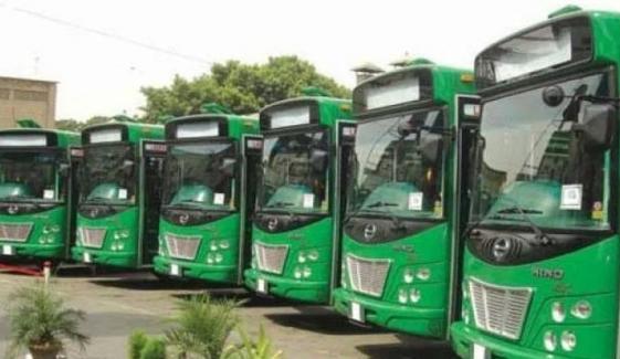 کراچی: گرین لائن منصوبے کیلئے بسوں کی خریداری کا آغاز