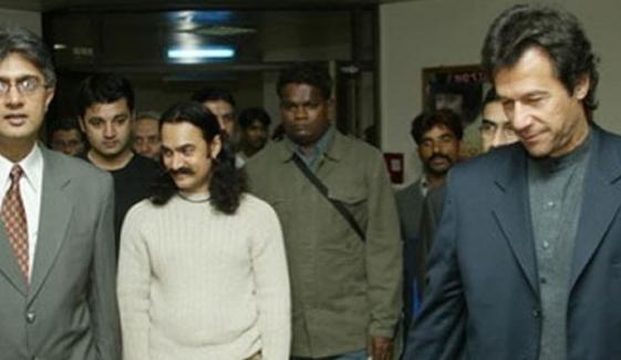 عمران خان اور عامر خان کی یہ ملاقات کہاں ہوئی؟