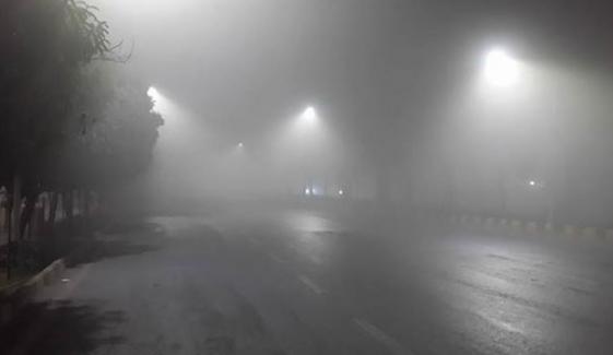 دھند سے موٹروے ایم ٹو پنڈی بھٹیاں سے لاہور تک بند