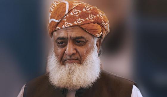لاہوری آج جلسوں کے تمام ریکارڈ توڑ دیں گے: مولانا فضل الرحمٰن