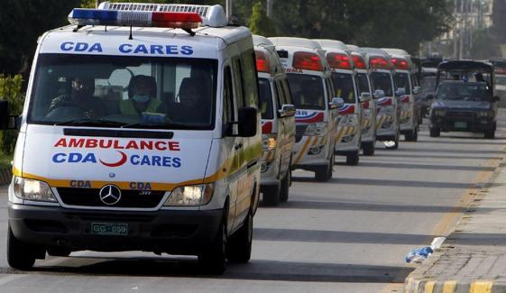 راولپنڈی میں دھماکا، 25 افراد زخمی